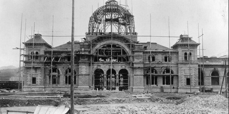 1896 – Der Bau