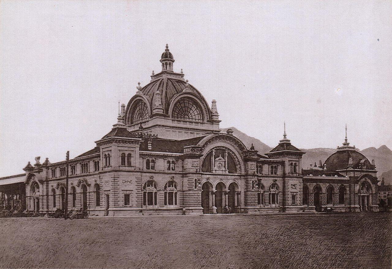 Eröffnung des 2. Bahnhofes 1896