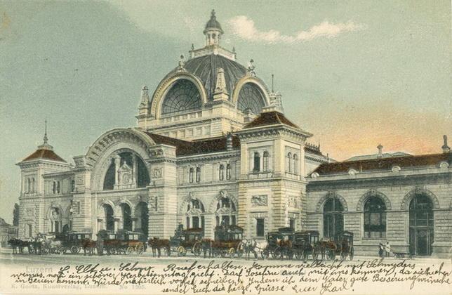 Postkarte Luzerns