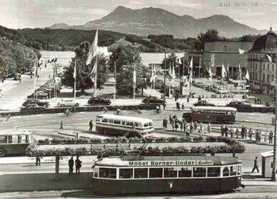 Bahnhofsplatz 1968